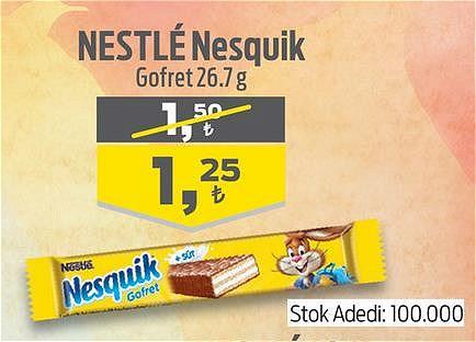 Nestle Nesquik Gofret 26.7 g image