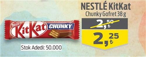 Nestle Kitkat Chunky Gofret 38 g image