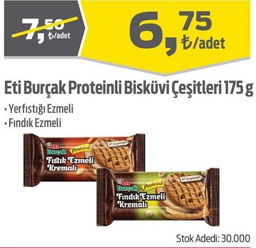 Eti Burçak Proteinli Bisküvi Çeşitleri 175 g image