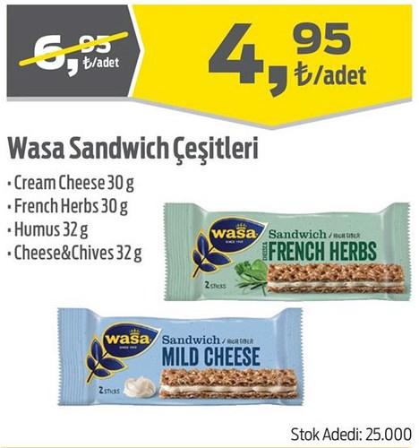 Wasa Sandwich Çeşitleri image