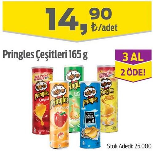 Pringles Çeşitleri 165 g image