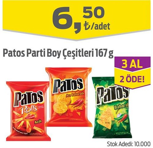 Patos Parti Boy Çeşitleri 167 g image