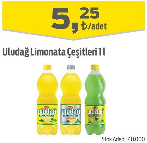 Uludağ Limonata Çeşitleri 1 l image