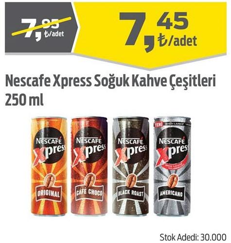 Nescafe Xpress Soğuk Kahve Çeşitleri 250 ml image
