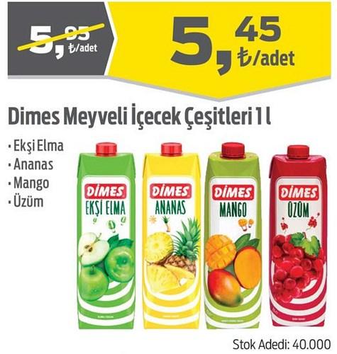 Dimes Meyveli İçecek Çeşitleri 1 l image