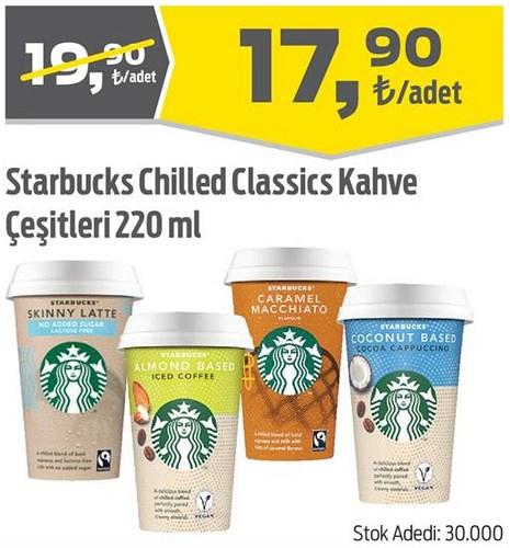 Starbucks Chilled Classics Kahve Çeşitleri 220 ml image