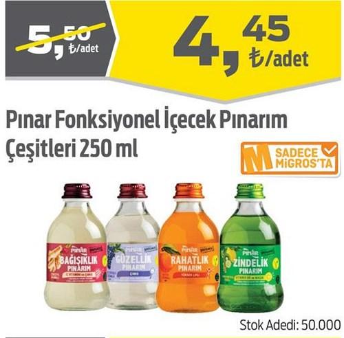 Pınar Fonksiyonel İçecek Pınarım Çeşitleri 250 ml image