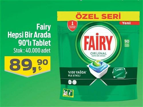 Fairy Hepsi Bir Arada 90'lı Tablet image