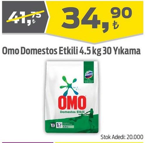 Omo Domestos Etkili 4.5 kg 30 Yıkama image