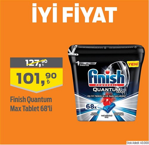 Finish Quantum Max Tablet 68'li image