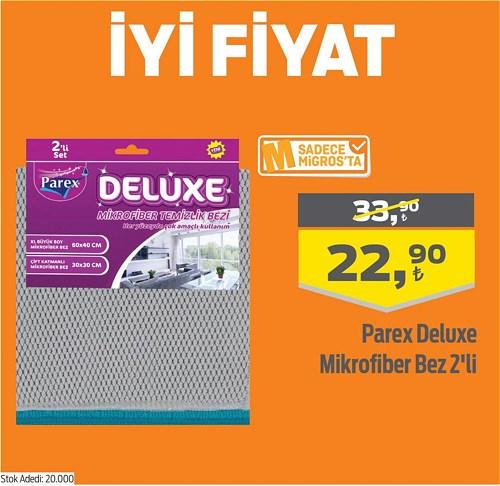 Parex Deluxe Mikrofiber Bez 2'li image