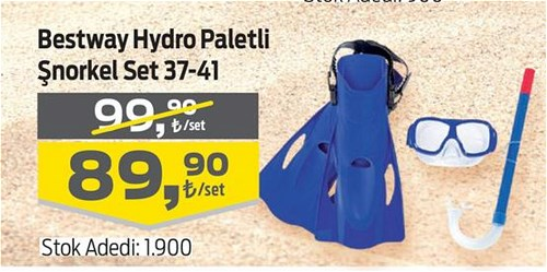 Bestway Hydro Paletli Şnorkel Set 37-41 image