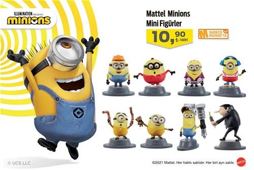 Mattel Minions Mini Figürler image