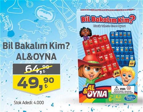 Hasbro Bil Bakalım Kim ? Al&Oyna image