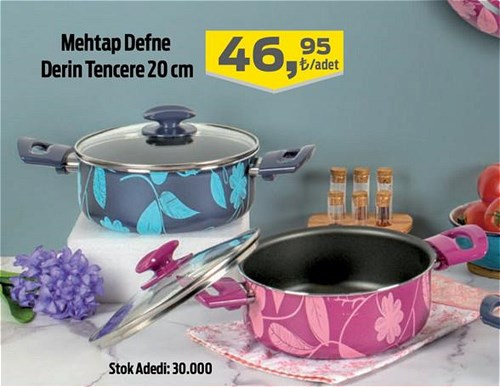 Mehtap Defne Derin Tencere 20 cm image