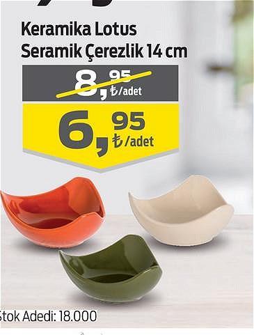 Keramika Lotus Seramik Çerezlik 14 cm image