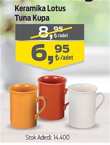 Keramika Lotus Tuna Kupa image