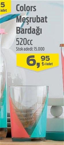 Lav Colors Meşrubat Bardağı 520 cc image