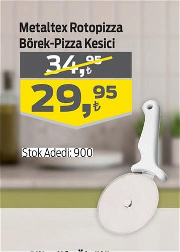 Metaltex Rotopizza Börek+Pizza Kesici image