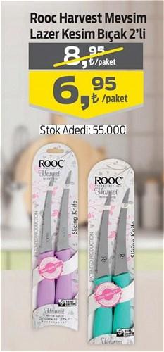 Rooc Harvest Mevsim Lazer Kesim Bıçak 2'li image