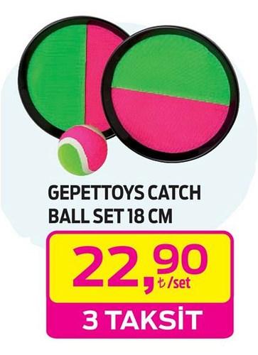 Gepettoys Catch Ball Set 18 cm image