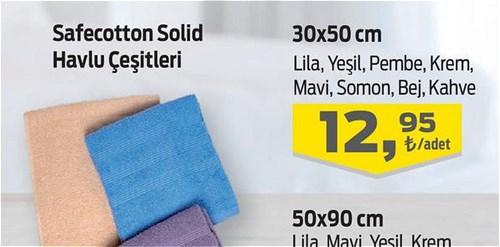 Safecotton Solid Havlu 30x50 cm image