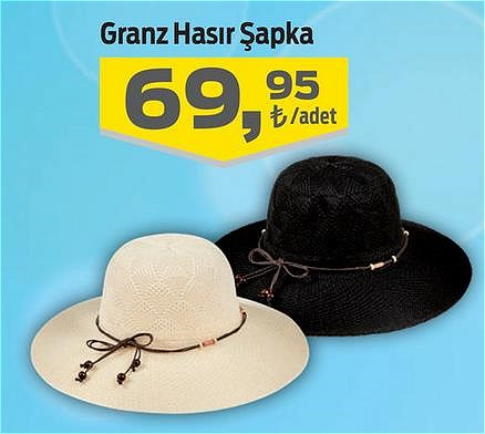 Granz Hasır Şapka image