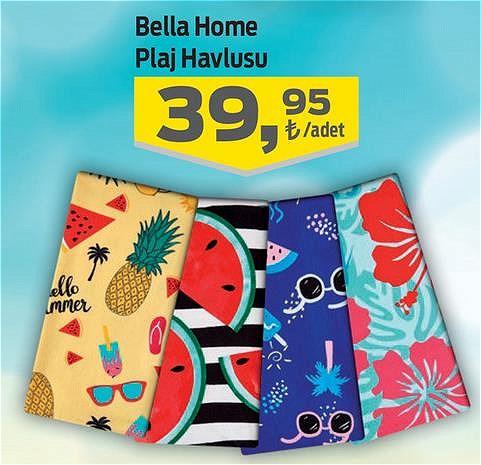 Bella Home Plaj Havlusu image