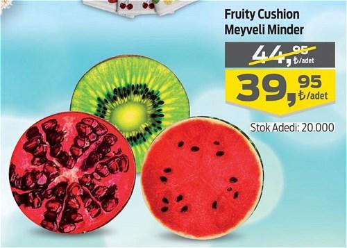 Frutty Cushion Meyveli Minder image