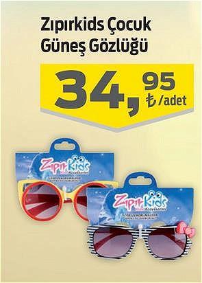 Zıpırkids Çocuk Güneş Gözlüğü image