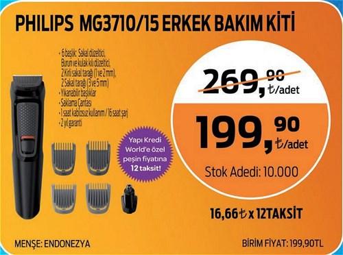Philips MG3710/15 Erkek Bakım Kiti image