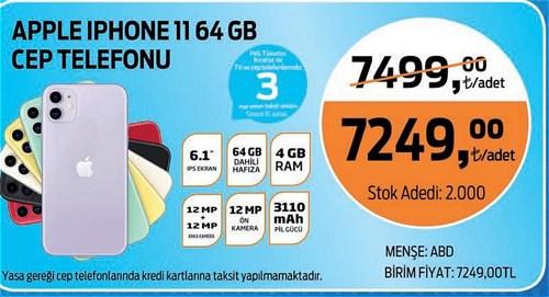 Apple Iphone 11 64 GB Cep Telefonu image