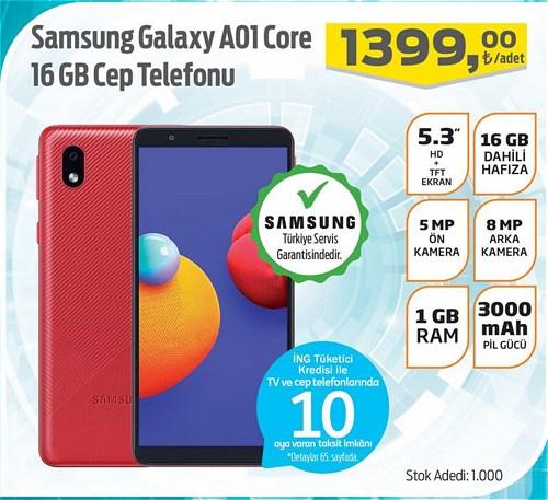 Samsung Galaxy A01 Core 16 GB Cep Telefonu image
