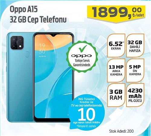 Oppo A15 32 GB Cep Telefonu image