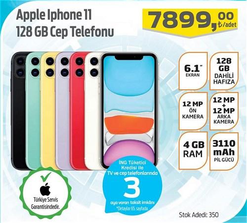 Apple Iphone 11 128 GB Cep Telefonu image