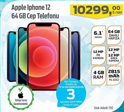 Apple Iphone 12 64 GB Cep Telefonu image