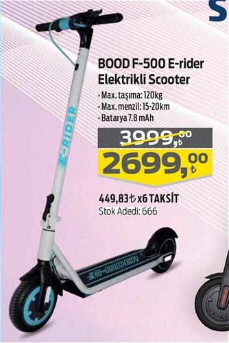 Bood F-500 E-rider Elektrikli Scooter image