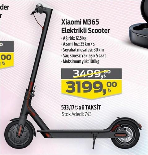 Xiaomi M365 Elektrikli Scooter image
