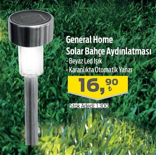 General Home Solar Bahçe Aydınlatması image