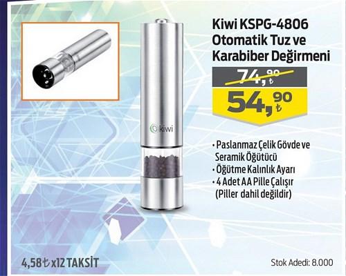 Kiwi KSPG-4806 Otomatik Tuz ve Karabiber Değirmeni image