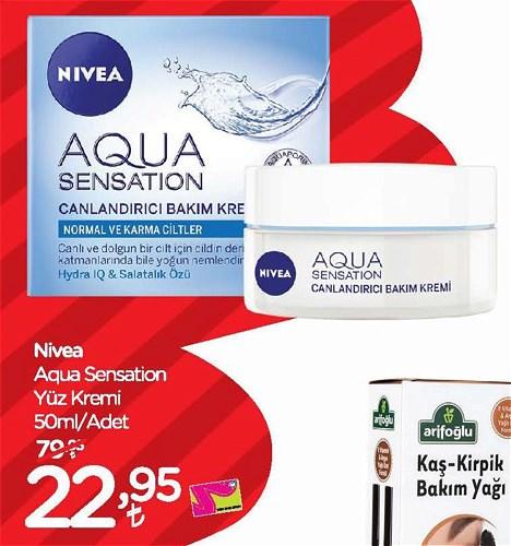 Nivea Aqua Sensation Yüz Kremi 50 ml image
