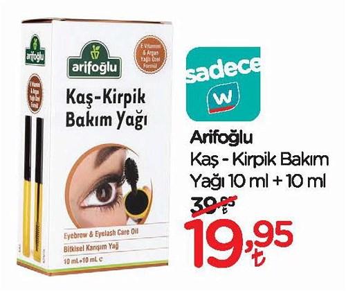 Arifoğlu Kaş/Kirpik Bakım Yağı 10 ml + 10 ml image