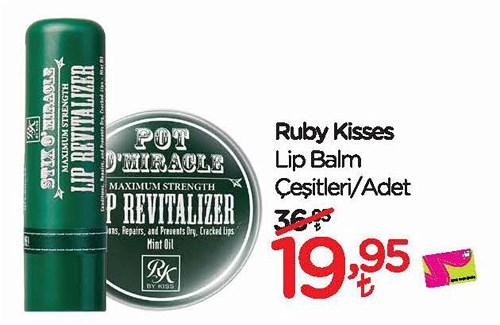 Ruby Kisses Lip Balm Çeşitleri/Adet image