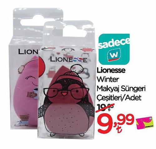 Lionesse Winter Makyaj Süngeri Çeşitleri/Adet image