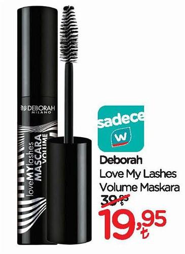 Deborah Love My Lashes Volume Maskara image