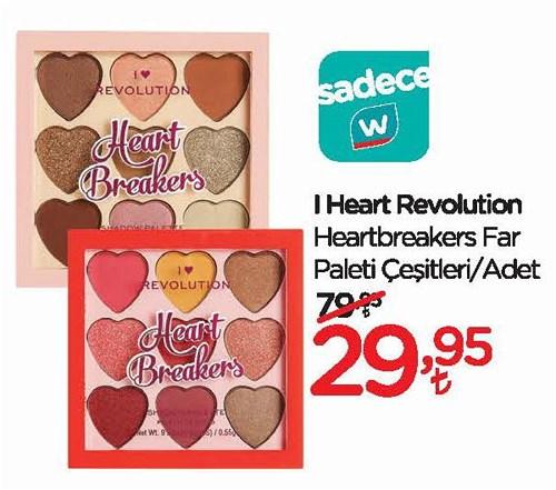 I Heart Revolution Heartbreakers Far Paleti Çeşitleri/Adet image