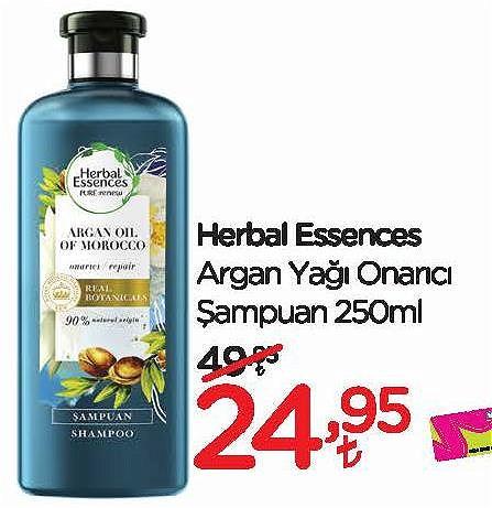 Herbal Essences Argan Yağı Onarıcı Şampuan 250 ml image