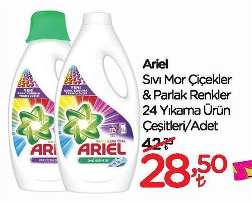 Ariel Sıvı Mor Çiçekler&Parlak Renkler 24 Yıkama Ürün Çeşitleri image