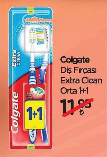 Colgate Diş Fırçası Extra Clean Orta 1+1 image