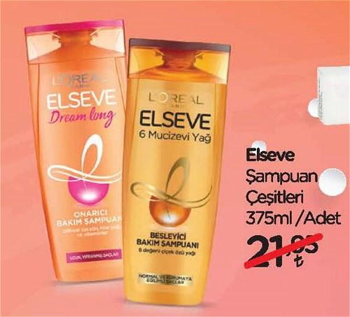 Elseve Şampuan Çeşitleri 375 ml image